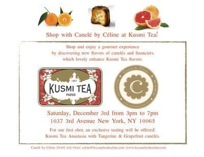 Kusmi tea flyer version of 12-01-11